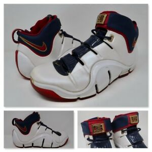 Nike Zoom LeBron IV 4 Playoff Basketball 2006 Release 314647 161 Mens Size 10.5