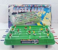 Vintage 1980s Li-Lo Soccer Game Mini Football Table in original box