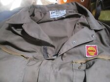 Vintage Shell Gas Service Station Mechanic Coveralls, Unitog 500, No-Reserve