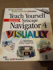 Teach Yourself Netscape Navigator 4 Visually by Maran, Ruth