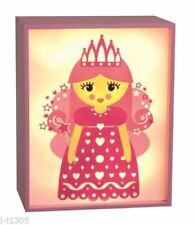 Artículos de iluminación de madera color principal multicolor para niños