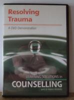 Resolving Trauma: Dr Robert McNeilly 1DVD
