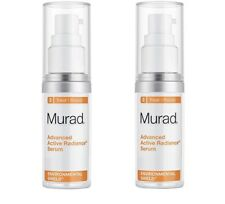 Pack of 2 - Murad Advanced Active Radiance Serum 0.5 Oz/ 15 ml Each - No Box