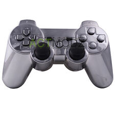 For PS3 Controller Shell With Matching Buttons + Free Tools Custom Chrome Gun