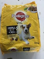 Pedigree Small Dog Complete Dry With Chicken And Vegetables 2.3kg Free Delivery