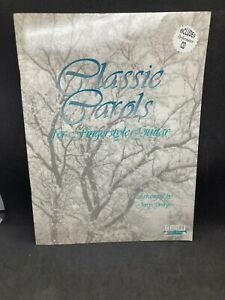SANTORELLA Classic Carols for Fingerstyle Guitar, with Performance CD TS169w/CD