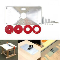 Router Table Insert Plate Woodworking Benches Trimmer Models Engraving Machine