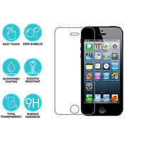 2 X Apple iPhone 4s 9H Hard Clear Premium Glass Screen Protector Film