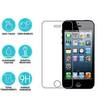 3 Apple iPhone 4s 9H duro X Claro Protector de pantalla Premium de vidrio