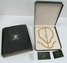 Beverly Hills Polo Club Prestige Collection Gold Finish Jewellery Set