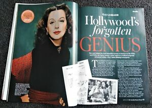 Hedy Lamarr magazine clippings