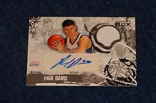 PAUL DAVIS CLIPPERS MICHIGAN STATE 2006-07 LUXURY BOX JERSEY AUTO RC (WB315)