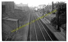 Hutcheon Street Railway Station Photo. Aberdeen - Kittybrewster. GNSR. (1)