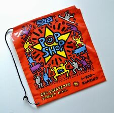 KEITH HARING : POP SHOP VINTAGE SHOPPING BAG :NEW CONDITION