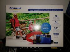 Olympus Tough TG-830 iHS 16.0MP Digital Camera - Blue NEW in Box