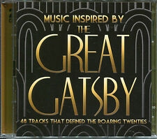 MUSIC INSPIRED BY THE GREAT GATSBY - 2 CD BOX SET - THE ROARING TWENTIES