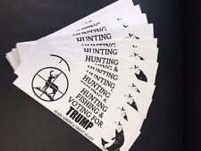 Donald Trump Sticker Make America Great Again 2016 President Hunting & Fishing