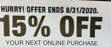 Home Depot 15% OFF Online Coupon Save up to $200 MAX fast delivery.