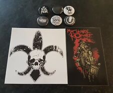 My Chemical Romance Sticker and Badge/Button Pack - The Black Parade