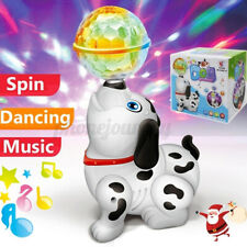 Electronic Walking Dancing Robot Dog Smart Musical Toy with Light Sound Kid