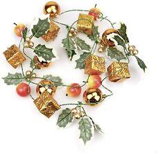 Christmas Led String Lights Garland Fairy Lights Apple Gift Mistletoe
