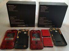2 HTC Rezound - 16GB - Black (Verizon) Smartphones - PARTS Repair with Box