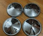 4 Vintage Ford Hubcaps Original Hubcaps Baby Moon Dog Dish Caps Used