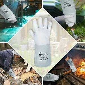 TIG Welding Gloves Sheep skin Best protective Gloves for TIG-ARC-BBQ-Solding