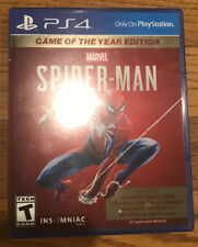 Spider-Man (Sony PlayStation, 2019, Game of the Year Edition)