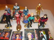 Star Trek lot of 8 great open Star Trek Figures (with accessories) Playmate Toys