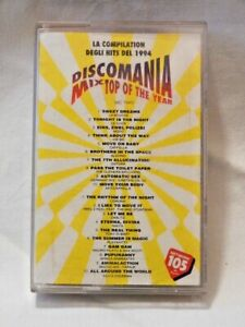 DISCOMANIA MIX TOP OF THE YEAR Compilation HITS 1994 Musicassetta Musica