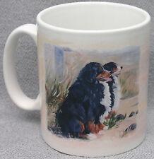 BERNESE MOUNTAIN DOG MUG NEW OIL PAINTING PRINT DESIGN SANDRA COEN ARTIST