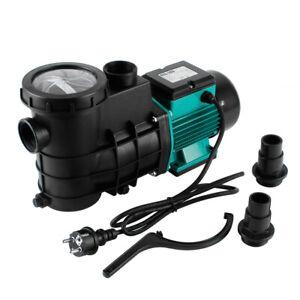 Poolpumpe Pompe de Piscine Pompe à Filtre 5000-14500L/H Filtre pour à Eau IPX4