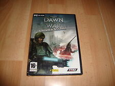 WARHAMMER 40,000 DAWN OF WAR WINTER ASSAULT EXPANSION PARA PC NUEVO PRECINTADO