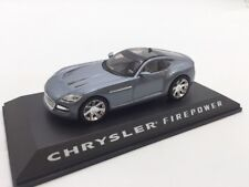 chrysler firepower n32/40 collection concept cars 1/43 altaya socle + fascicule