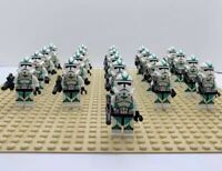 21x Green Clone Troopers Mini Figures (LEGO STAR WARS Compatible)