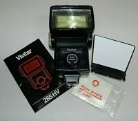 Vivitar 285HV ZOOM THYRISTOR ELECTRONIC BOUNCE FLASH w/VARI-POWER Module