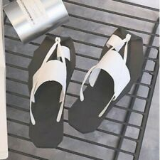 Mens Thong Clip On Slipper Slip On Summer Skidproof Roman Beach Sandals Shoes