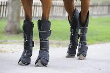 Bucas Transportgamaschen, Bucas Freedom Boots, schwarz, Größe Pony, 4er Set