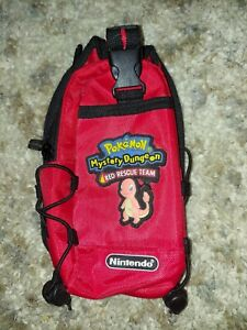 GAMEBOY Switch N Carry Nintendo Pokemon Mystery Dungeon Red Rescue Team Bag RARE