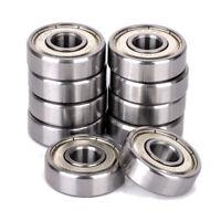 10Pcs Pack of 10 Bearing 608ZZ 8x22 mm Metric Ball Bearing VXB Bearings