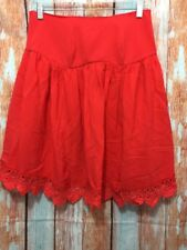 New Lovers + Friends Size Small Red Strapless Lace Blouse Top NWT