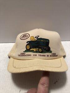 Vintage John Deere Dealer ABC Groff New Holland Snapback Cap