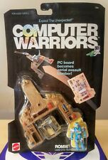 COMPUTER WARRIORS ROMM 1989 MATTEL NEW SEALED EXCELLENT #4