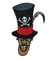 Disney Doctor Facilier Patch Evil Villain Dr. Shadow Man Crest IronOn Applique