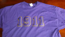 Omega Psi Phi 1911 Purple T-Shirt 3XL