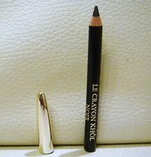 LANCOME Le Crayon Khol EyeLiner, Shade: Black, 0.7g, Travel Size, Brand New!!