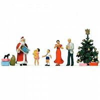 Merry Christmas Scene (5) Exclusive Figure Set HO/OO gauge figures Preiser 10652