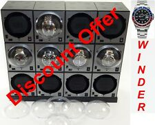 Boxy Brand Brick Automatic Watch Winder System for twelve watches -12E4