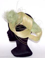 CHAPEAU tailles XL / XXL de cérémonie TOUT EN TETE bandeau femme vert clair hat